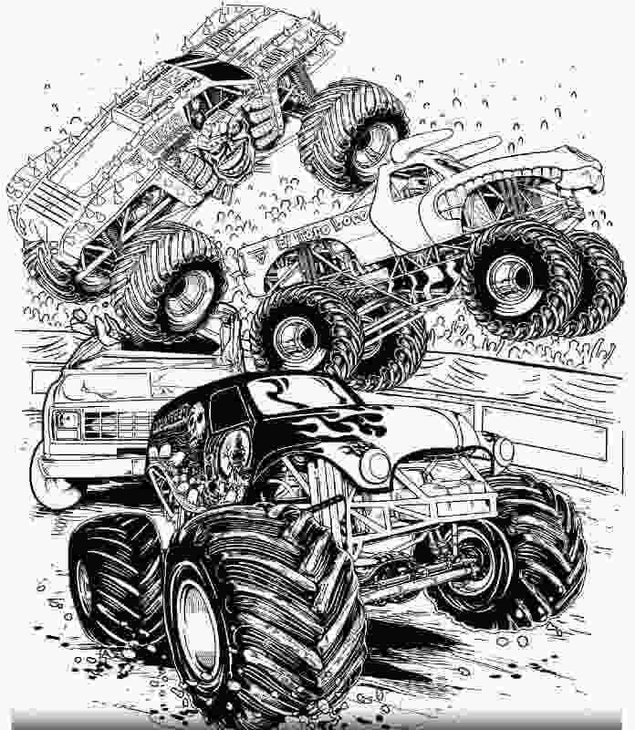 monster truck coloring pictures 10 monster jam coloring pages to print