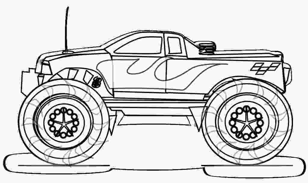 monster truck coloring pictures monster truck coloring pages to download and print for free