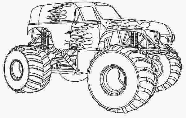 monster truck coloring pictures ms bigfoot monster truck coloring page free amandas