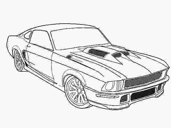 mustang car coloring pages 1966 mustang coloring pages