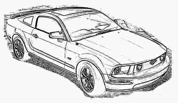 mustang car coloring pages 2006 ford mustang car coloring pages best place to color