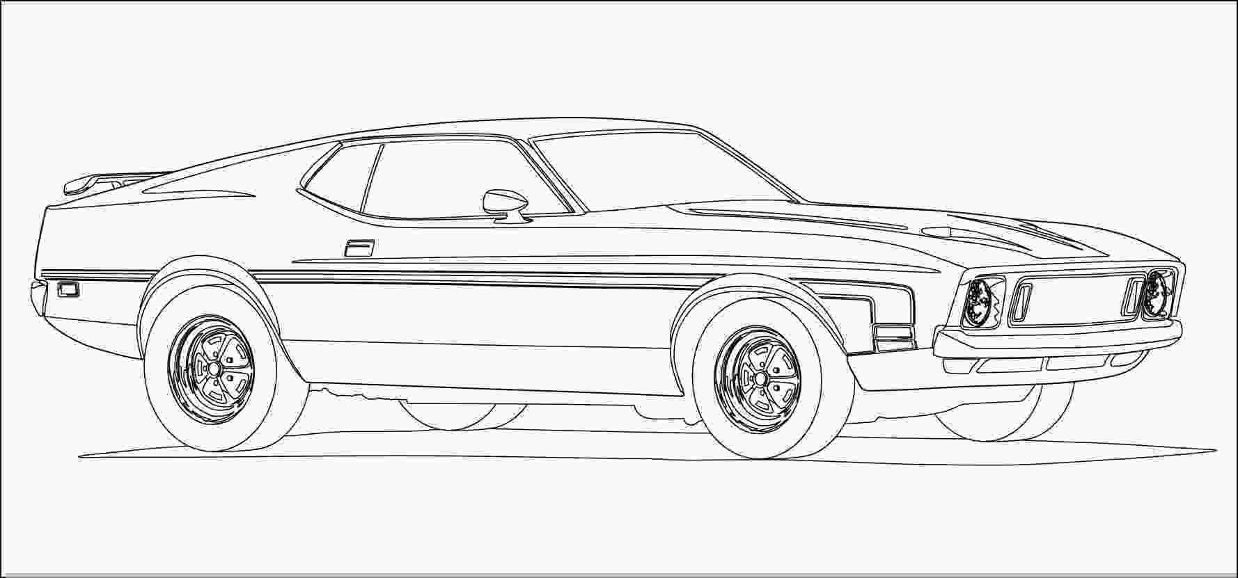 mustang car coloring pages 2011 ford mustang coloring pages