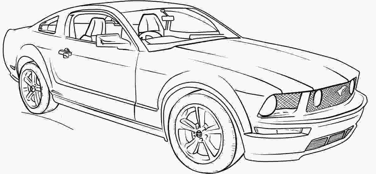 mustang car coloring pages ford mustang gt lineart coloring page classroom doors