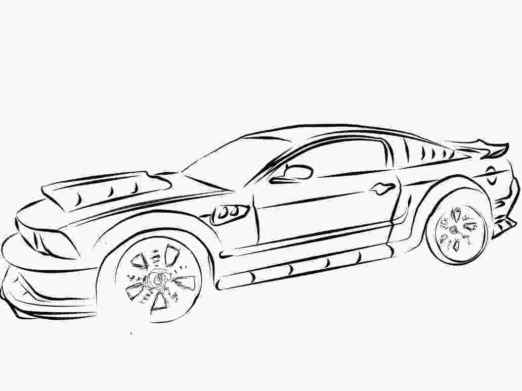 mustang car coloring pages mustang coloring pages bestofcoloringcom