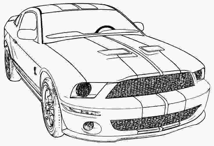 mustang car coloring pages mustang cool cars to color 14739 bestofcoloringcom