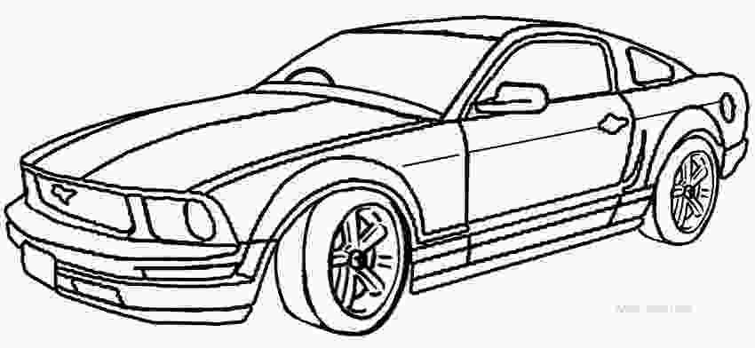 mustang car coloring pages printable mustang coloring pages for kids cool2bkids 4