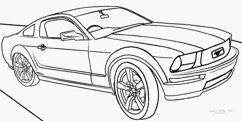 mustang car coloring pages printable mustang coloring pages for kids cool2bkids