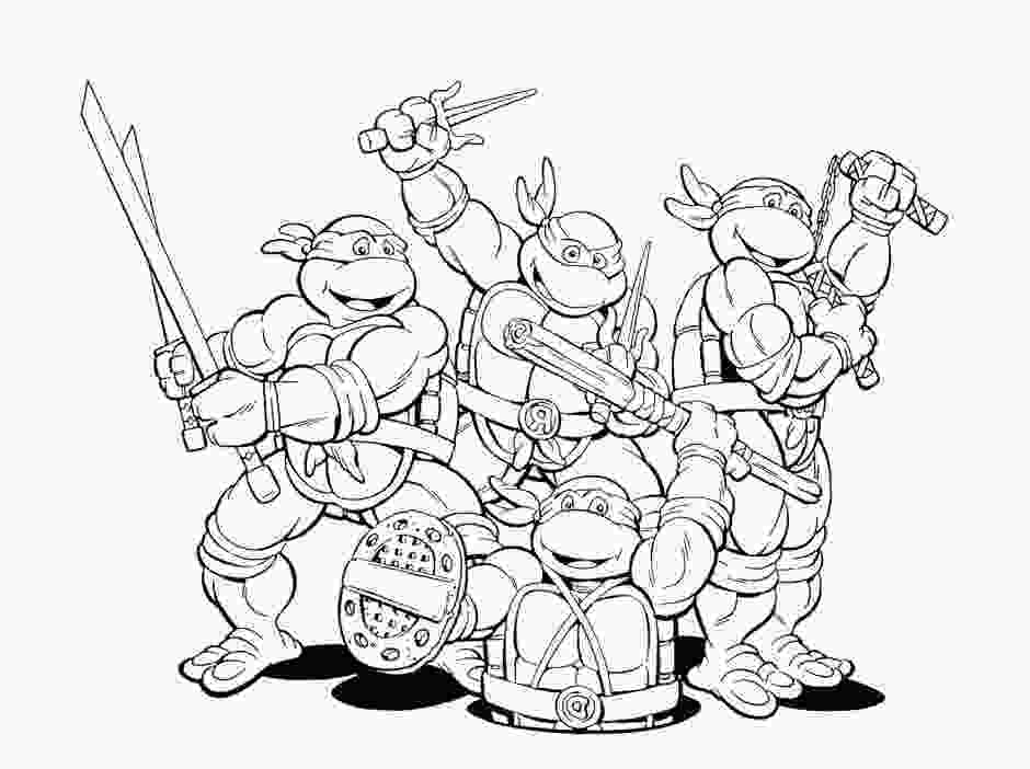 ninja turtles colouring pages online free ninja turtles coloring pages hagio graphic 136479