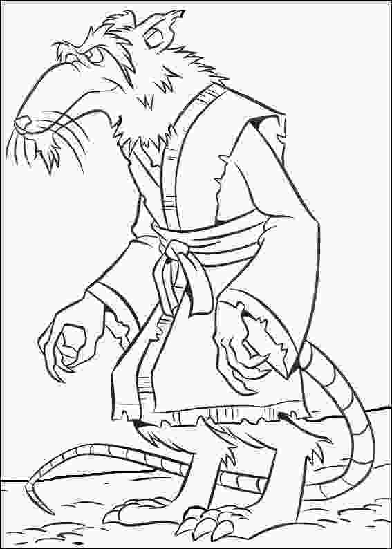 ninja turtles colouring pages online ninja turtles splinter coloring picture for kids teenage