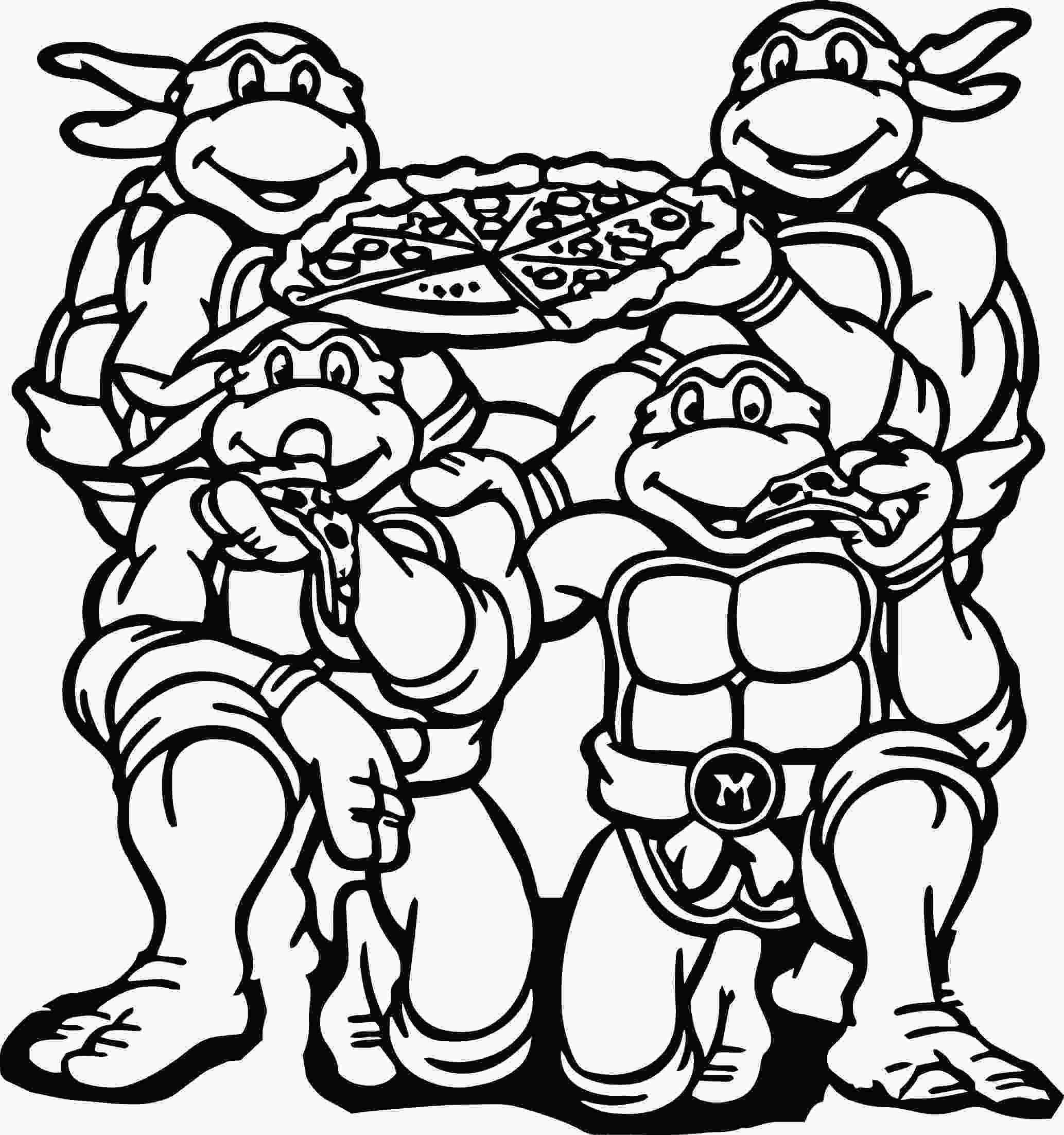 ninja turtles colouring pages online teenage mutant ninja turtle coloring pages coloringsuitecom