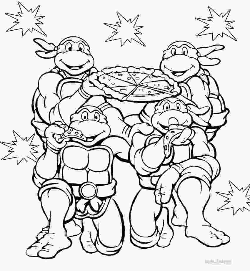 ninja turtles colouring pages online teenage mutant ninja turtles coloring pages print them