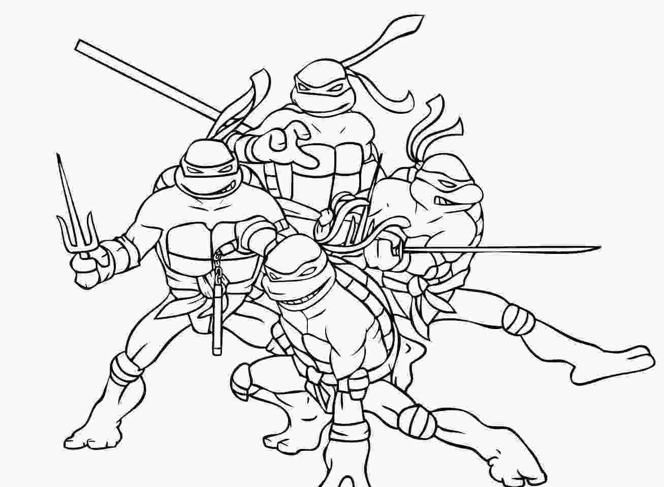 ninja turtles colouring pages online the ninja turtles coloring pages kids