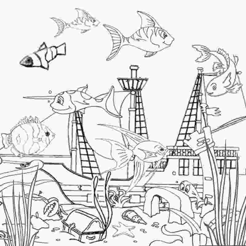 ocean scenes coloring pages free printable ocean coloring pages for kids
