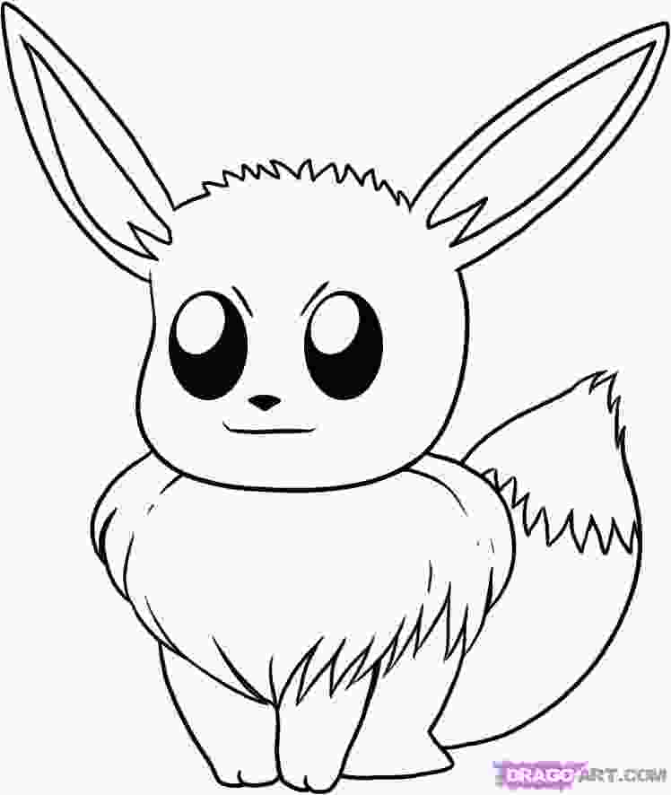 pokemon drawing pages pokemon quot eeve quot coloring pages kids