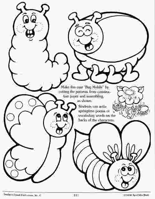 preschool garden coloring pages squish preschool ideas garden amp insects recortables