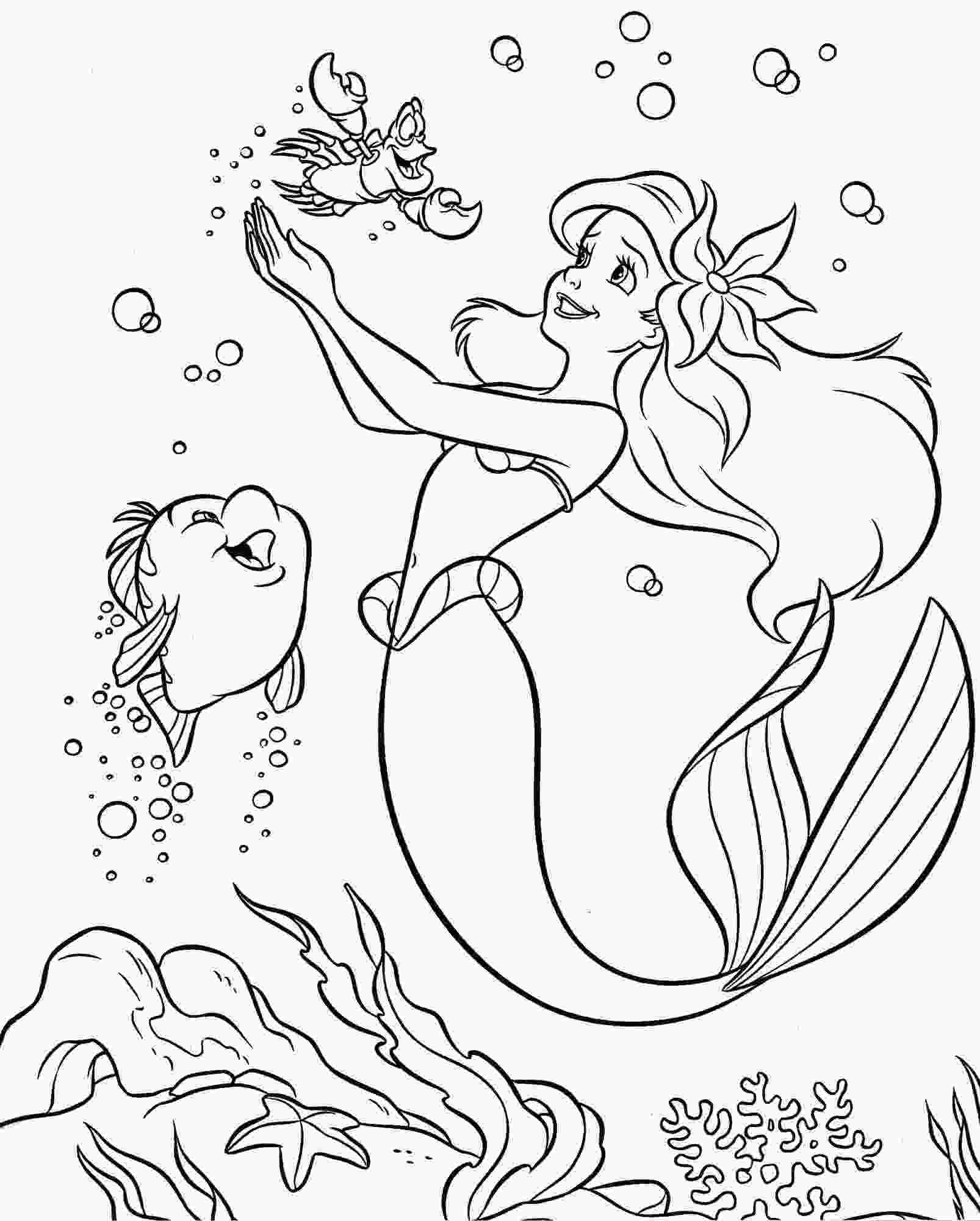 printable ariel coloring pages colouring pages coloring pages disney princess little