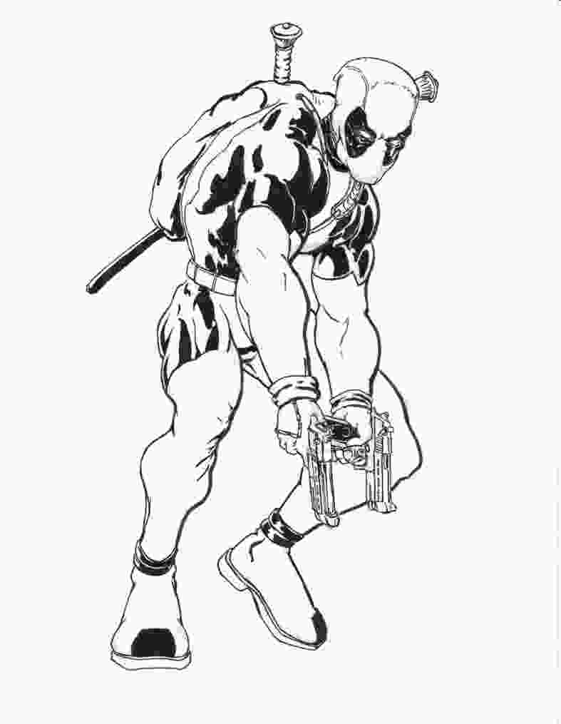 printable deadpool coloring pages free printable deadpool coloring pages for kids