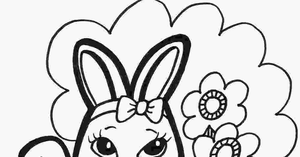 rabbit face coloring page easter bunny face coloring pages coloring home