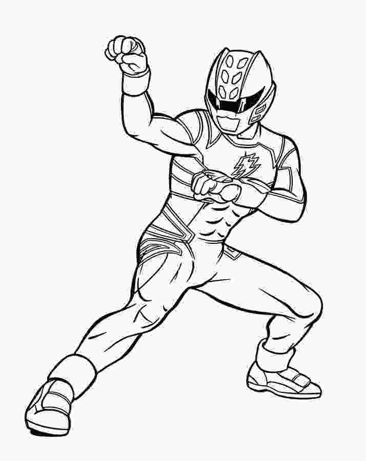 rainbow rangers coloring blue power ranger jungle fury power rangers coloring