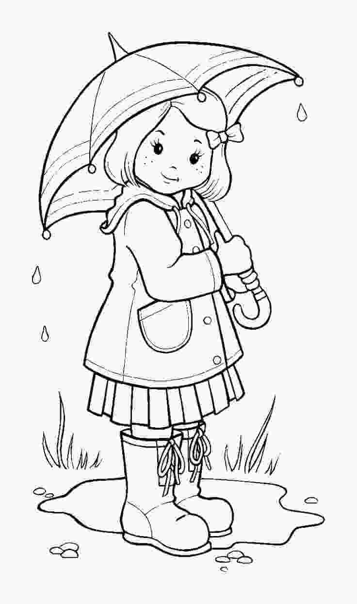 rainy day coloring sheets 35 free printable rainy day coloring pages