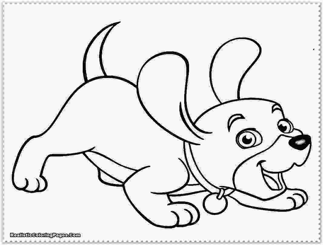 realistic cute dog coloring pages puppy coloring pages realistic coloring pages