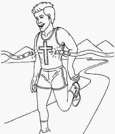 running coloring pages 15 best run the race theme images on pinterest hebrews