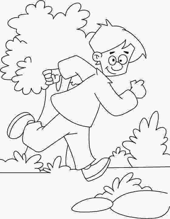 running coloring pages running coloring page download free running coloring 1