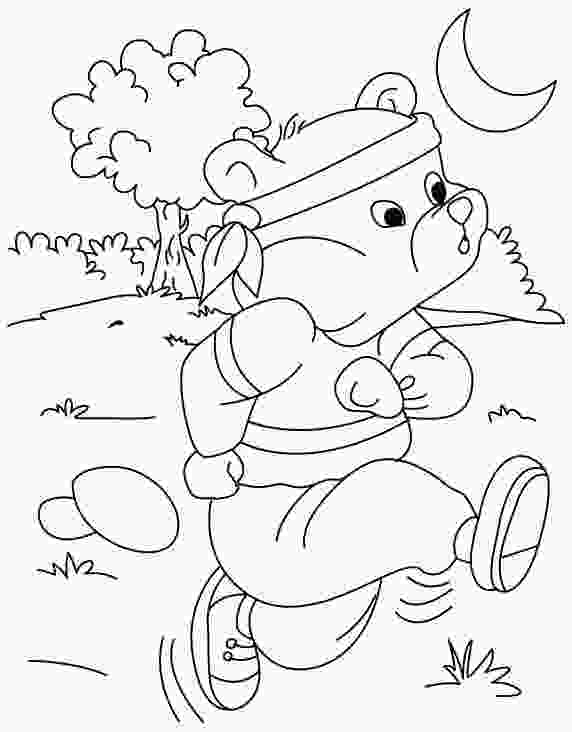 running coloring pages running coloring page download free running coloring