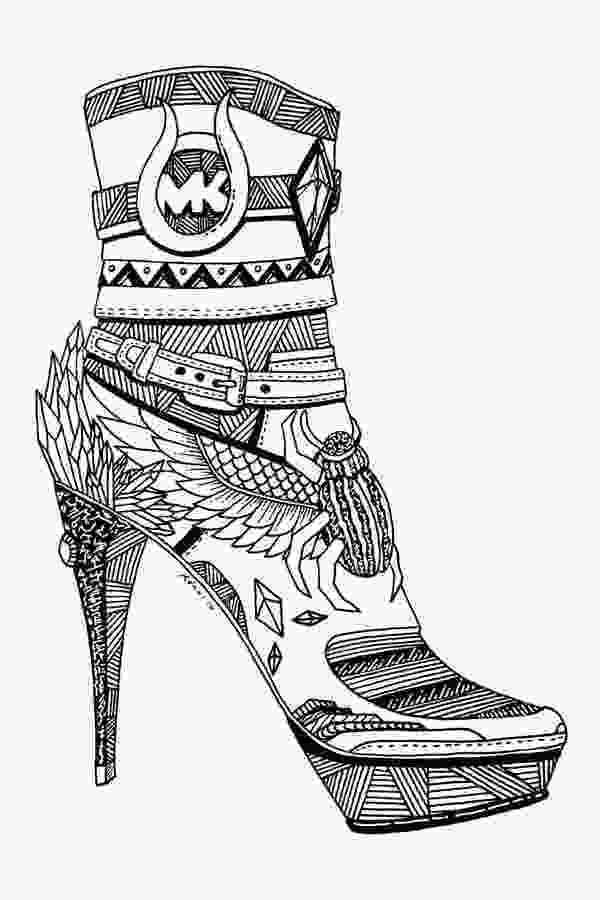 shoes drawing 362 best images about adult colouringshoesfeetshands