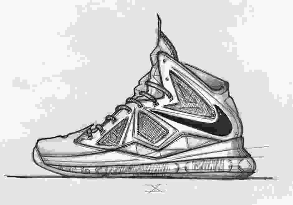 shoes drawing a sketched history of jason petries nike lebron designs