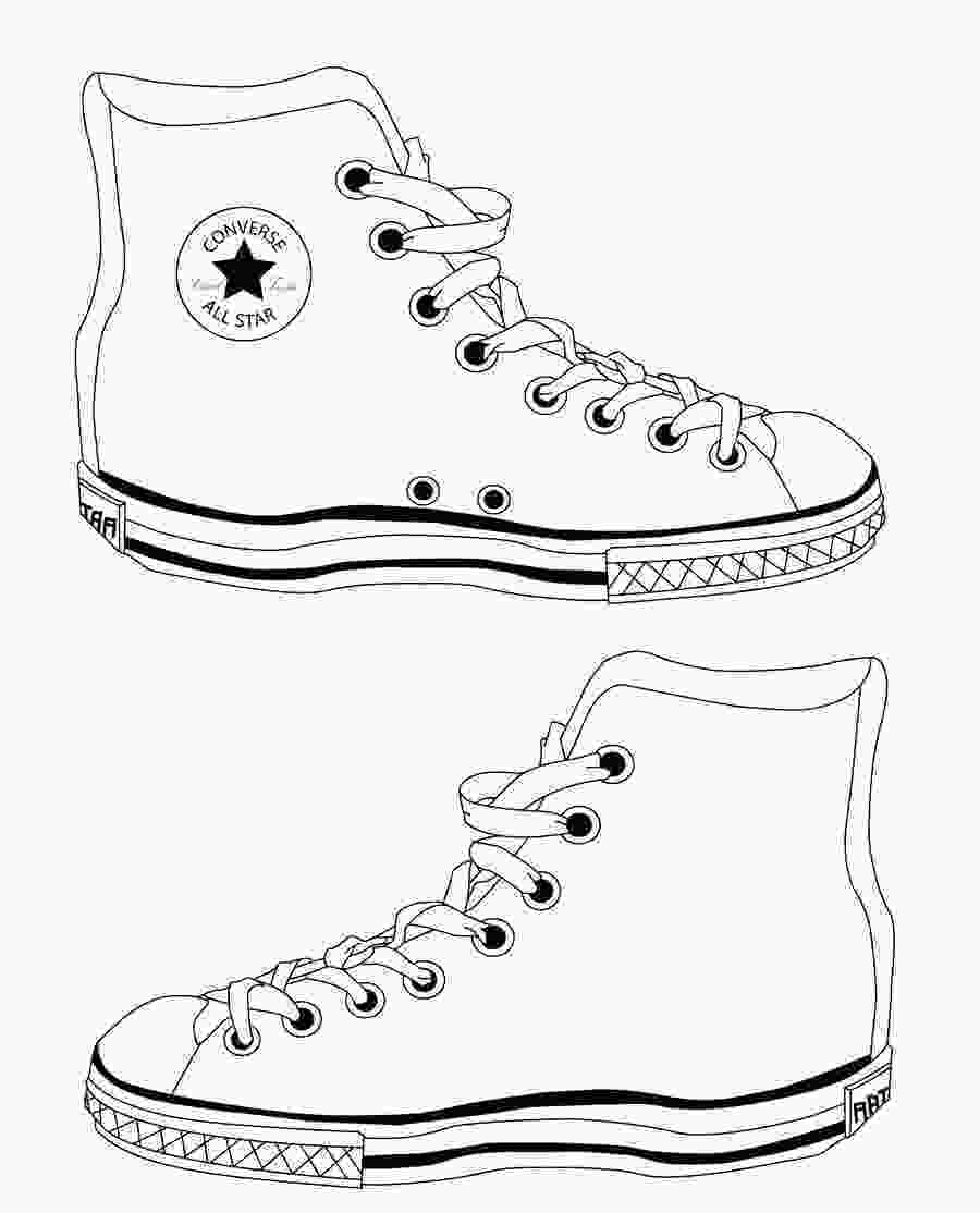 shoes drawing converse shoes template by reinvigorate on deviantart
