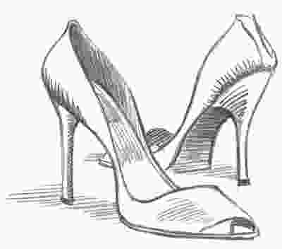 shoes drawing cote cheval there is beauty in everything