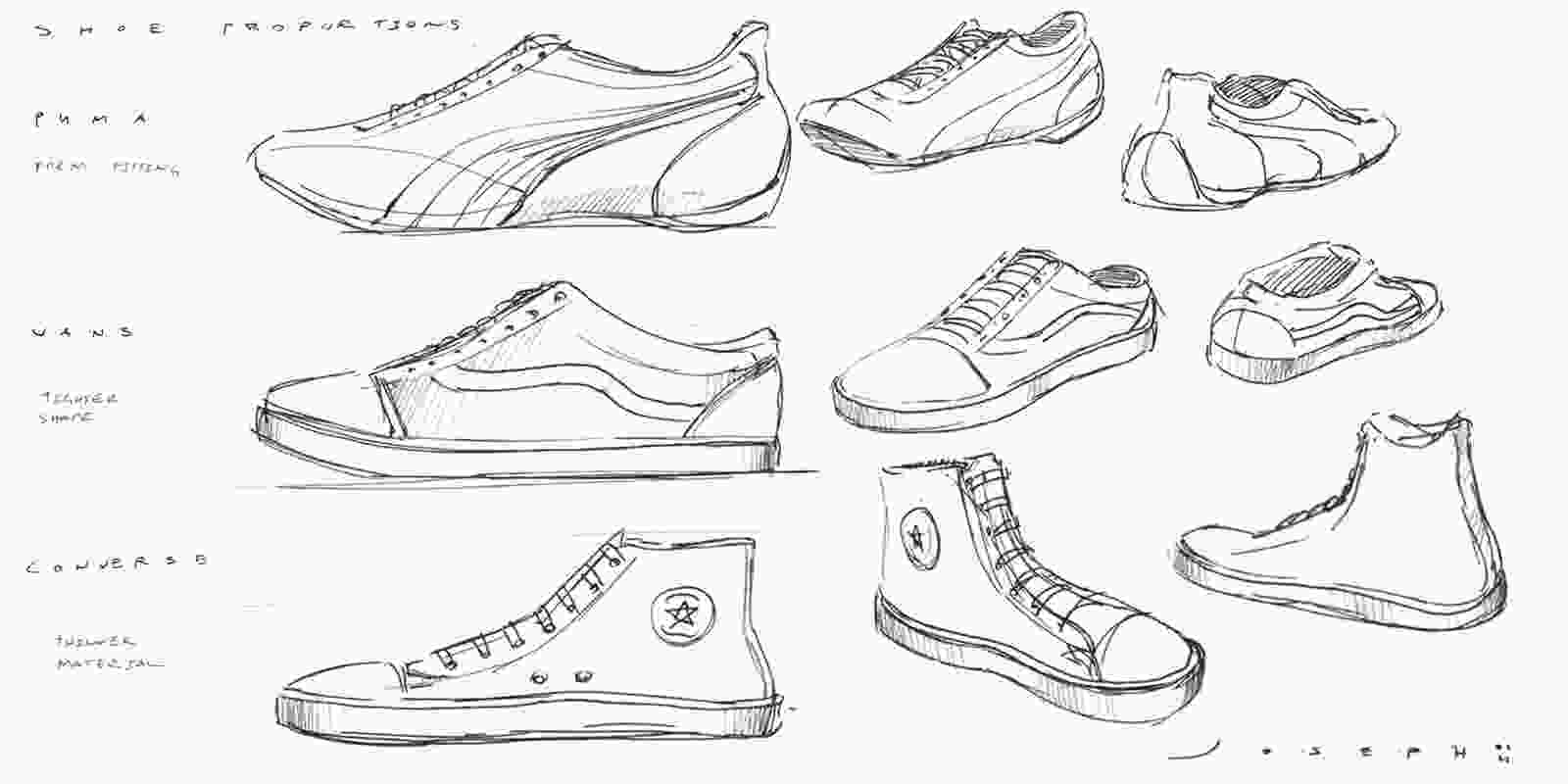 shoes drawing draw by design shoes for thought