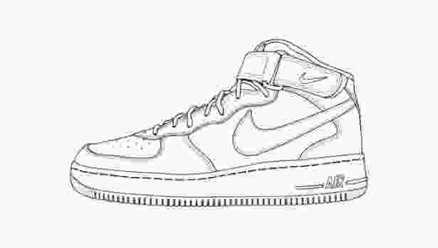 shoes drawing nike shoe images for coloring this entry was posted in