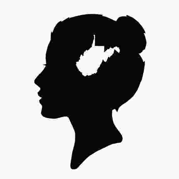 silhouette of virginia virginia silhouette at getdrawingscom free for personal