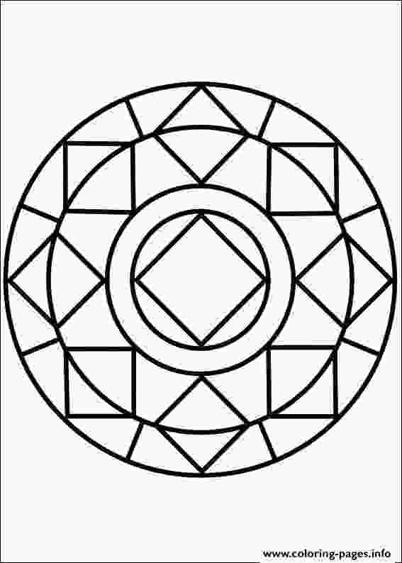 simple mandala coloring page print easy simple mandala 85 coloring pages dyeing to