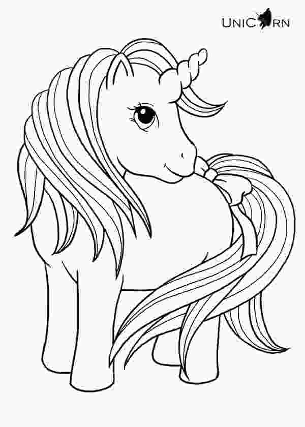 simple unicorn coloring pages unicorn coloring pages to download and print for free