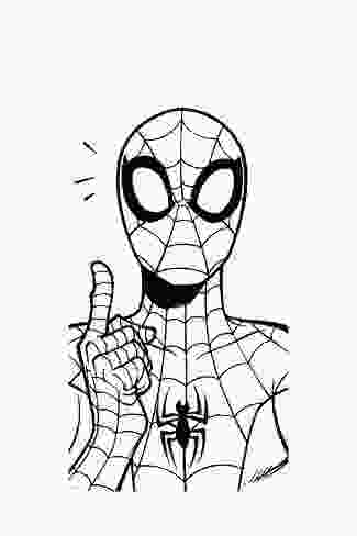 spiderman outline ultimate spiderman fall 2013 panel line art prints at
