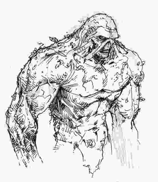 swamp coloring pages 17 best images about swamp thing on pinterest dc comics