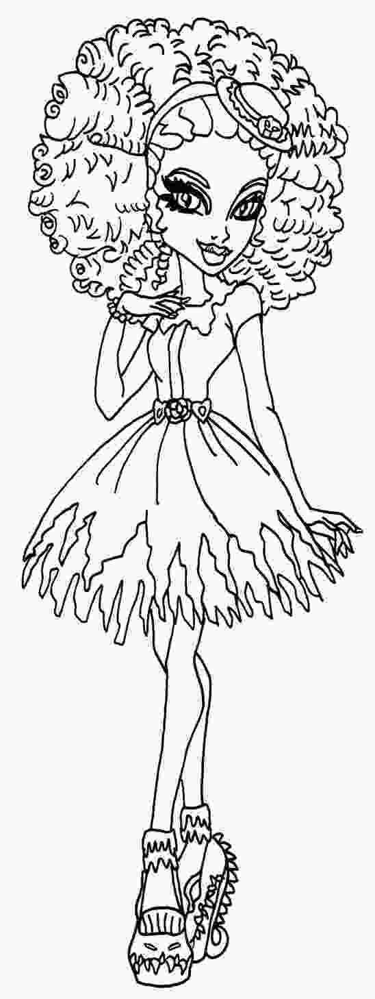 swamp coloring pages 236 best images about monster high coloring pages on