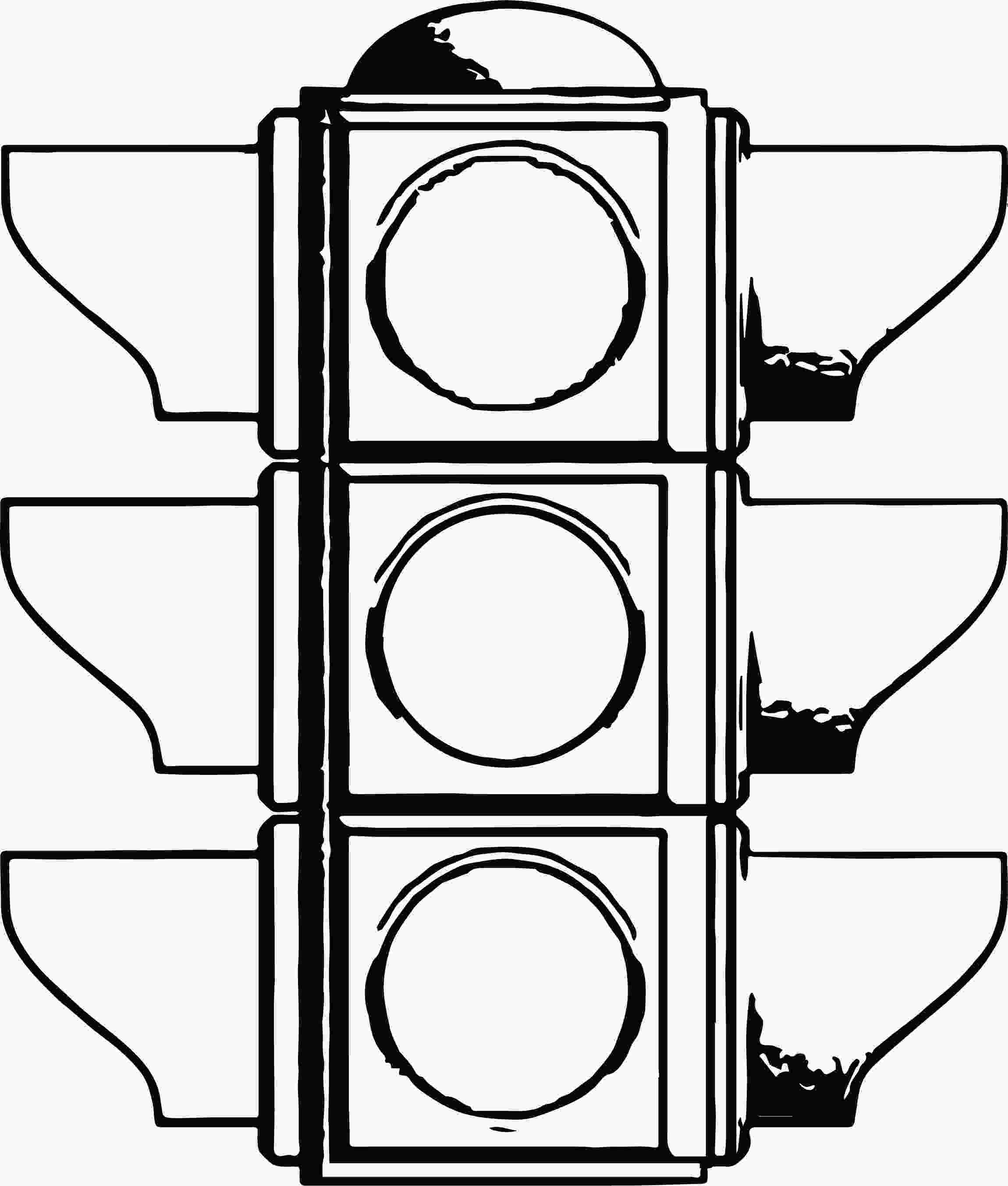 traffic light coloring page traffic light all coloring page wecoloringpagecom