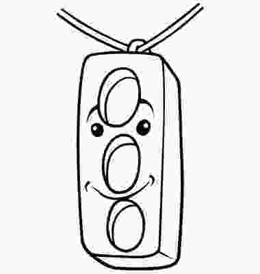 traffic light coloring page traffic lights coloring