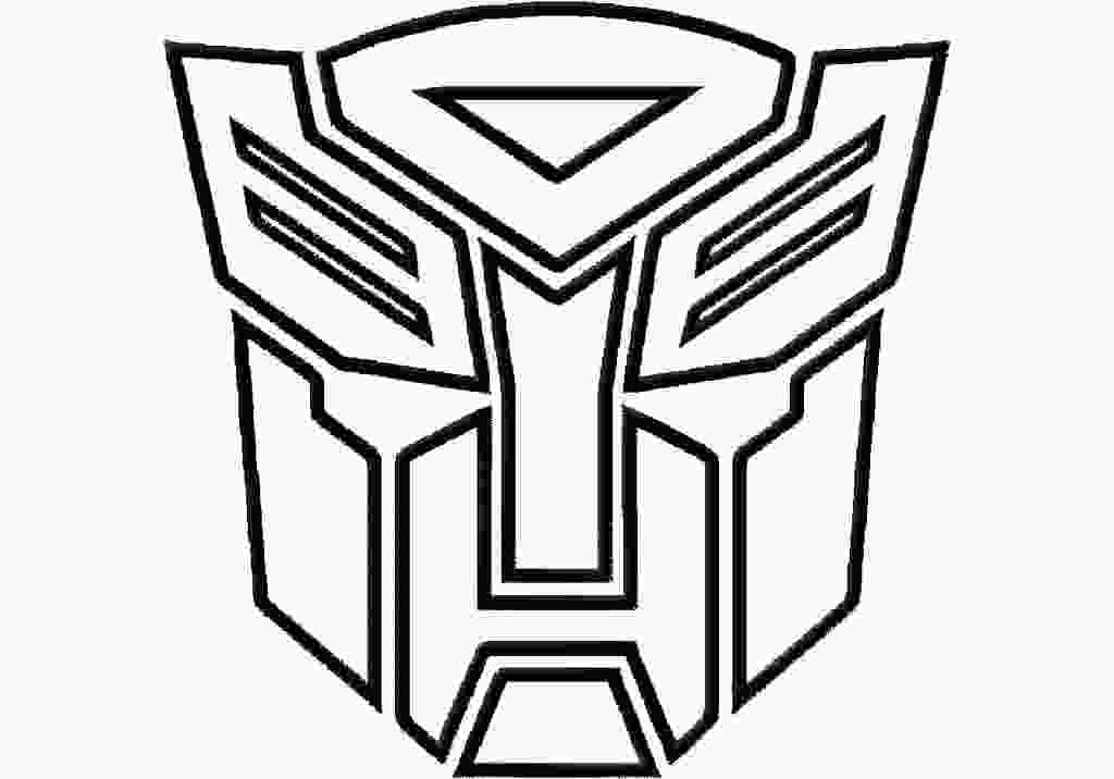 transformers logo coloring pages transformers transformer logo and clip art coloring pages