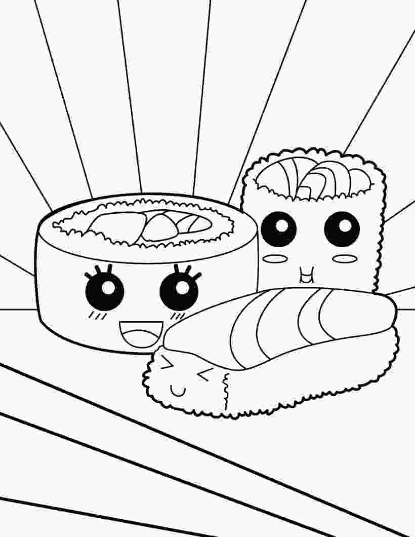 unicorn cute food coloring pages sushi makis coloring page coloring pages cute coloring pages unicorn coloring pages cat