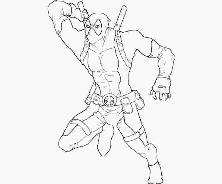 young marvel coloring book pages deadpool coloring pages for boys coloring pages