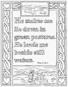 23rd psalm coloring page coloring pages for kids by mr adron printable psalm 231