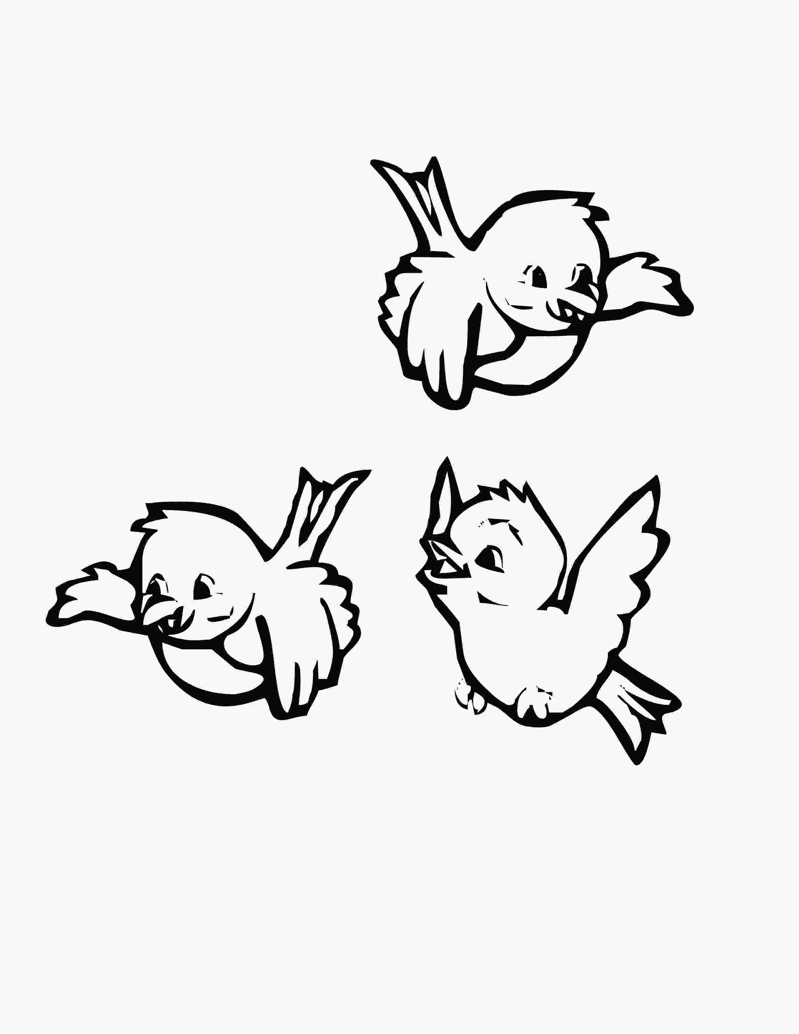 bird printable coloring pages bird coloring pages