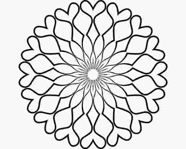blank coloring sheets blank mandala for coloring by bcre80v on deviantart