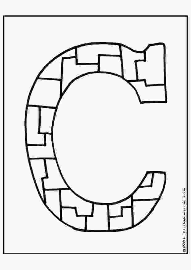 c for coloring coloring page letter c img 9254 images