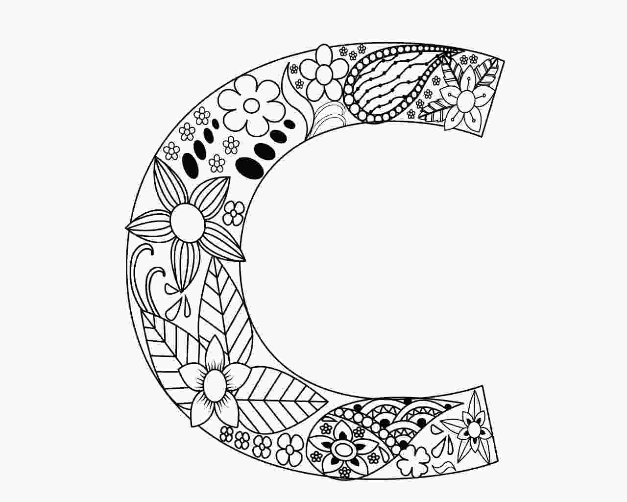 c for coloring letter c coloring pages for your little ones